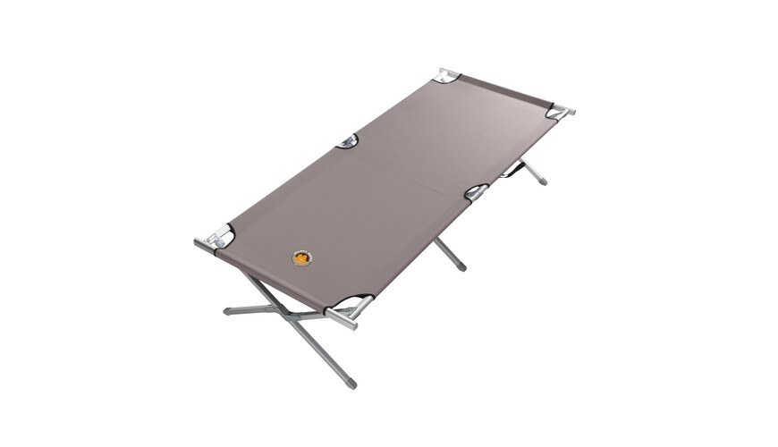 Grand Canyon aluminium campingbed L grey